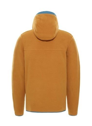 The North Face The North Face Carbondale Yarım Fermuarlı Erkek Sweatshirt Kahverengi Renkli